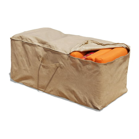 "Budge 19"" H Nutmeg Patio Cushion Storage Bag Cover, All-Seasons"