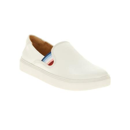 - EV1 from Ellen DeGeneres Women's Slip On Sneaker (White)
