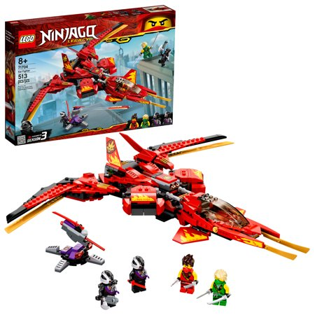 LEGO NINJAGO Legacy Kai Fighter Ninja Playset Building Kit 71704