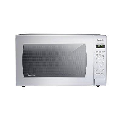 Panasonic nn-sn936w countertop microwave with inverter te...