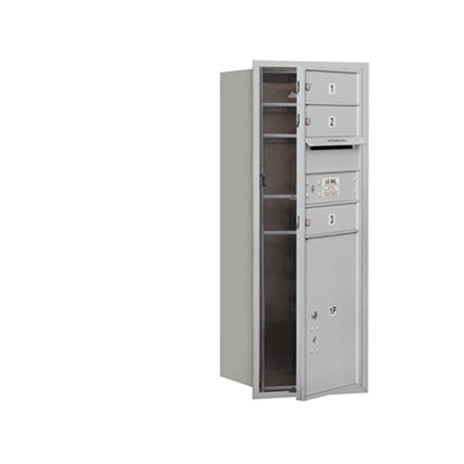 Salsbury 3710S-03AFU 4C Horizontal Mailbox 10 Door High Unit - 37.50 Inches - Single C