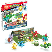 Mega Construx Pokemon Trainer Team Challenge Construction Set with character figures, Building Toys for Kids (276 Pieces)