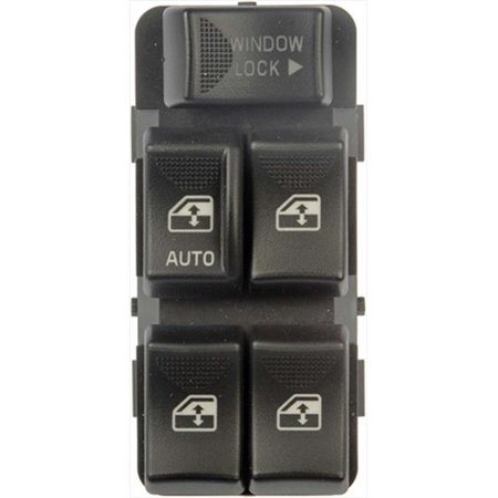 Dorman Front Left Window - Dorman 901001 Power Window Switch Front Left, 5 Button