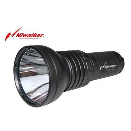 NIWALKER VOSTRO BK-FA09S XHP35 Long Throw LED Flashlight 2400 LUMENS - 1490M