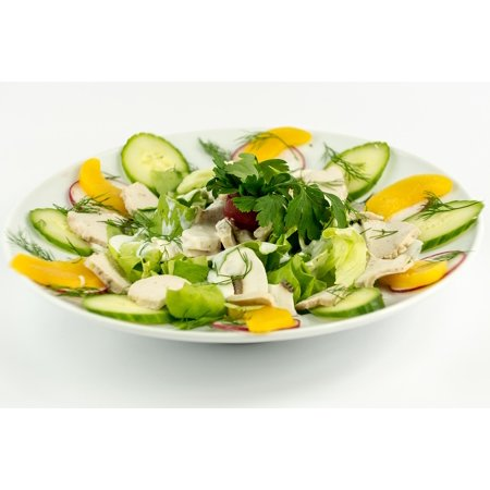 LAMINATED POSTER Food Healthy Meal Fresh Salad Vegetable Green Poster Print 11 x 17