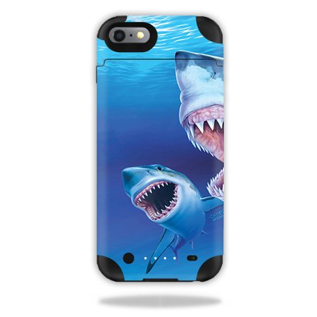 Skin For Mophie Juice Pack iPhone 6 Plus – Great Whites | MightySkins Protective, Durable, and Unique Vinyl Decal wrap cover | Easy To Apply, Remove, and Change Styles | Made in the USA