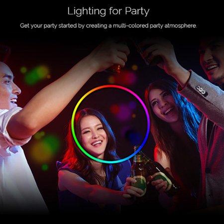 Smart LED Light Bulb RGB Multicolor LED Bulb 7W E27 Light Wireless BT Dimmable Light Phone Remote Control Lamp Bulb - image 2 of 7