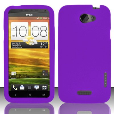 Silicone Skin Case for HTC One X -