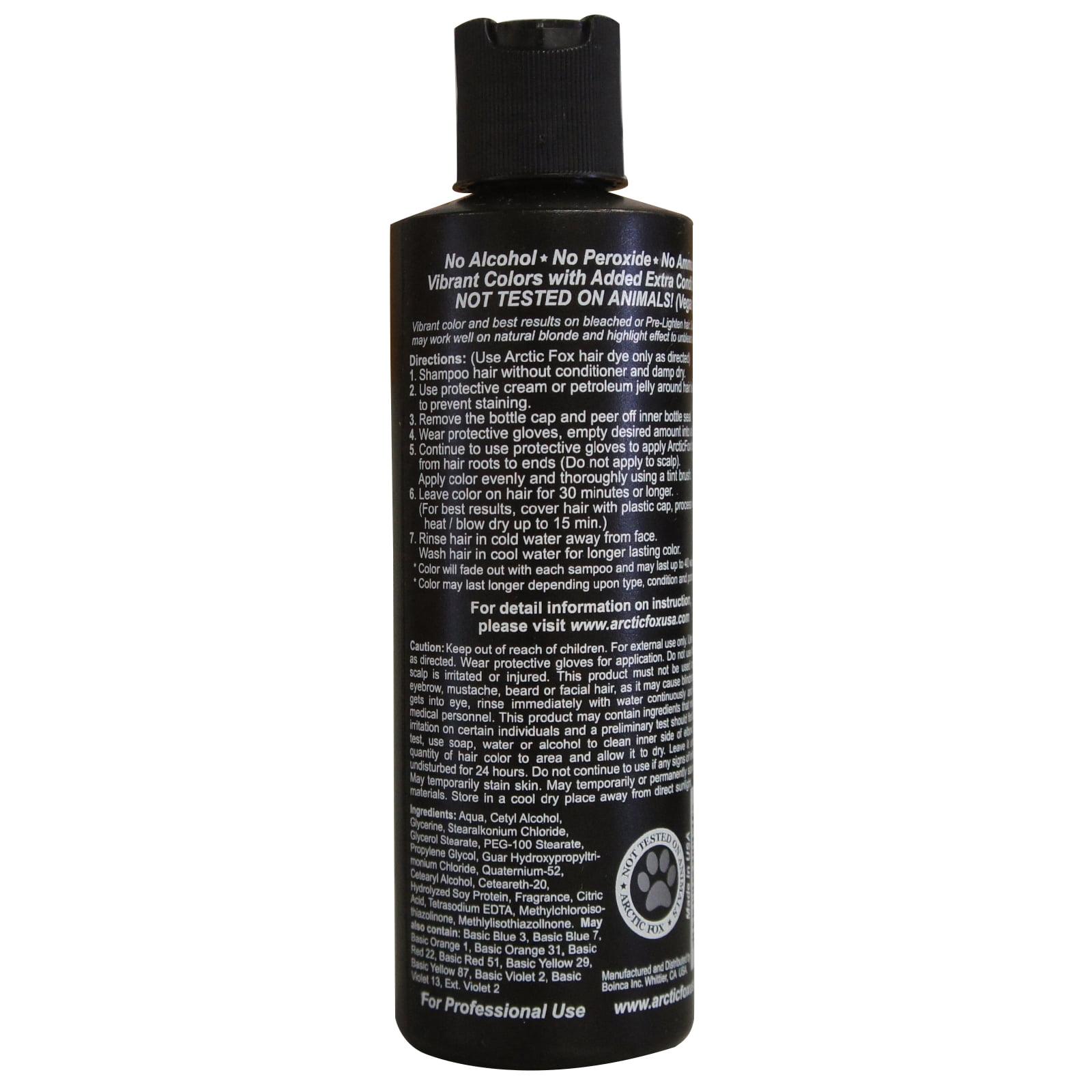Arctic Fox Semi Permanent Hair Dye 8 Oz Walmart