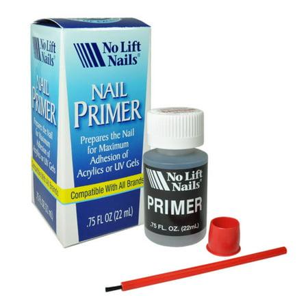No Lift Nails Acrylic + UV Gel Nail Primer/Bonder/Base .75oz/22ml