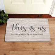 Personalized This Is Us Doormat
