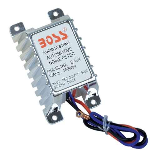 Boss Audio B15N - 12 Amp Automotive Noise Suppressor