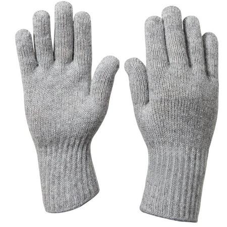 G.I. Wool Glove Liners Olive Drab Wool Glove