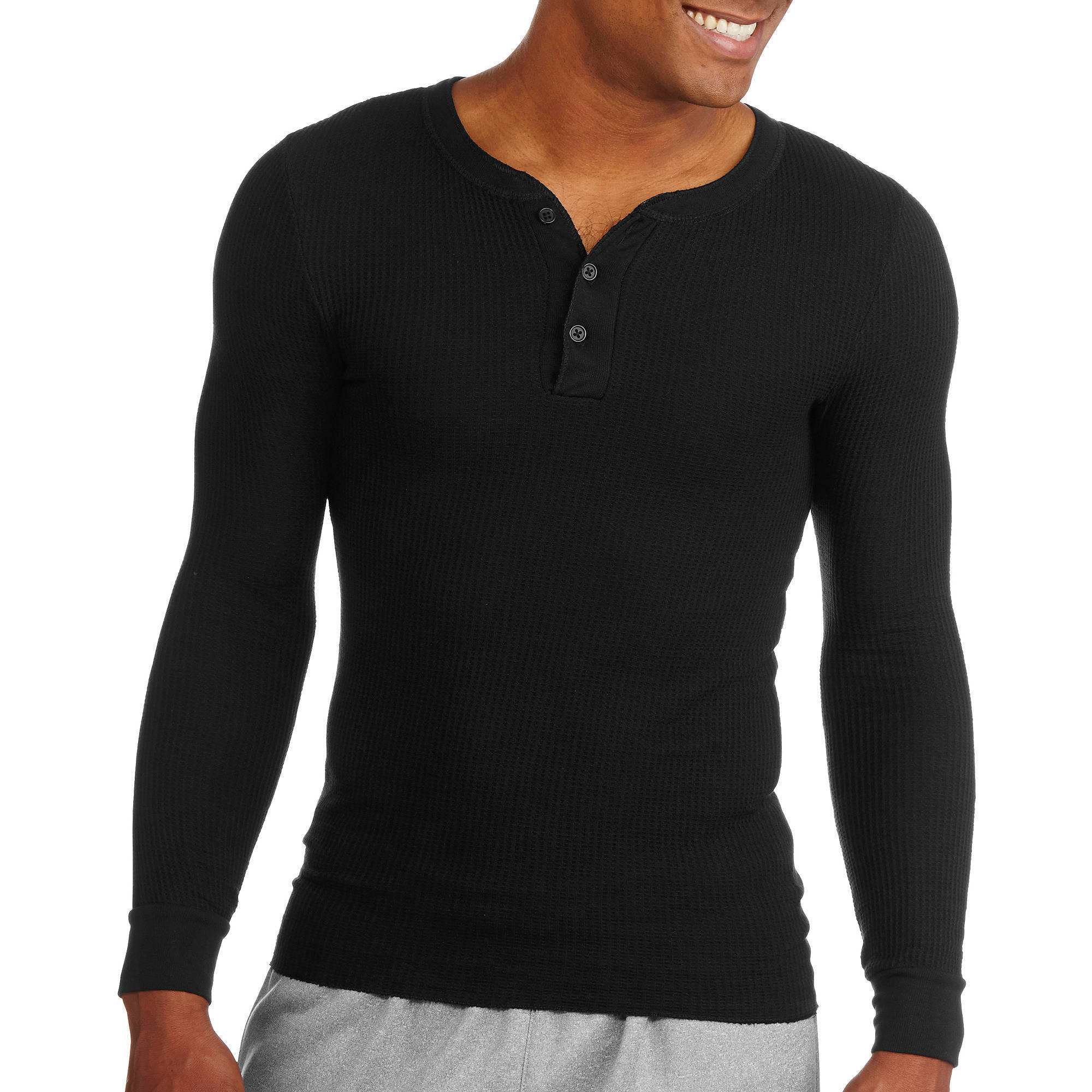 Fruit of the Loom Men's Classic Thermal Henley Top