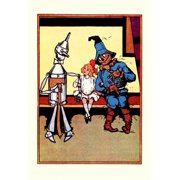 Buy Enlarge 0-587-06133-2P12x18 Tin Man  Dorothy and Scarecrow- Paper Size P12x18