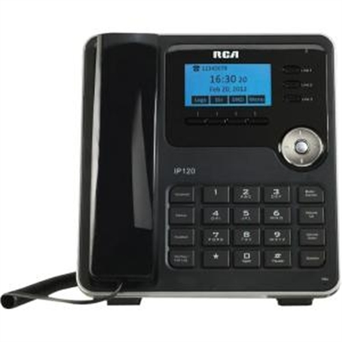 RCA 3-Line Phone and Broadband VoIP Phone Service IP120S