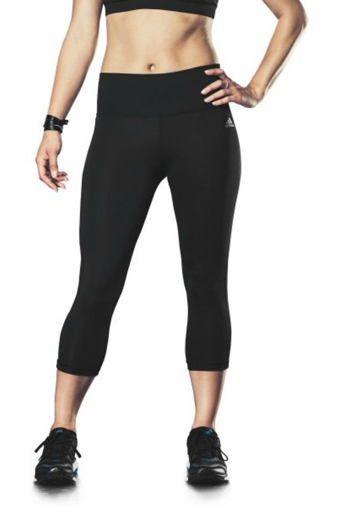 8aaa67f3d7d34b adidas - adidas Women's Climalite 3/4 Performer Tights (Large) - Walmart.com