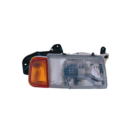 replacement depo 318-1102r-asc passenger headlight for 89-98 suzuki sidekick
