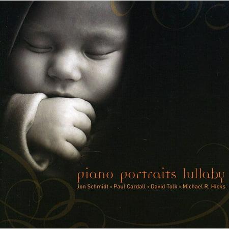 Piano Portraits Lullaby, (CD), Children's Music - Children's Halloween Music List