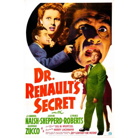 Dr RenaultS Secret U Canvas Art - (11 x 17)