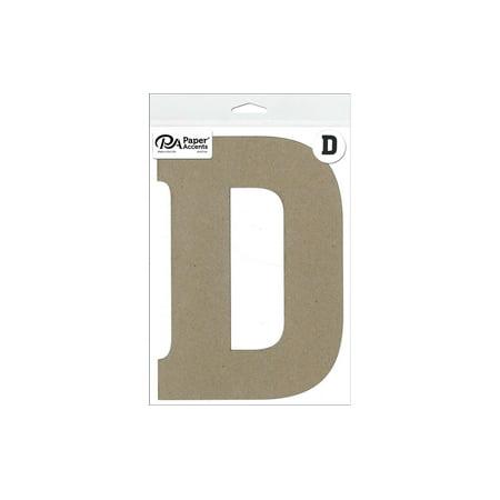 Chipboard Letter 8