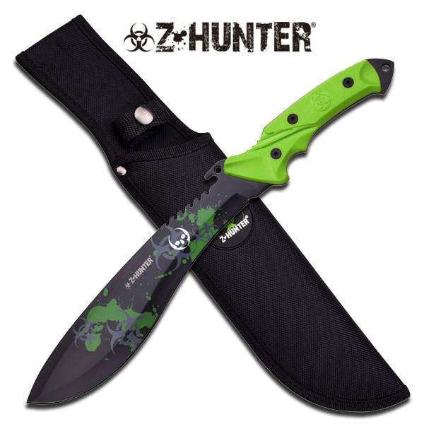 "14.75"" Fixed Blade Multi-Colored"