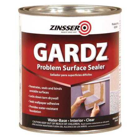 ZINSSER 2304 1 Qt  Clear Water-Based Interior