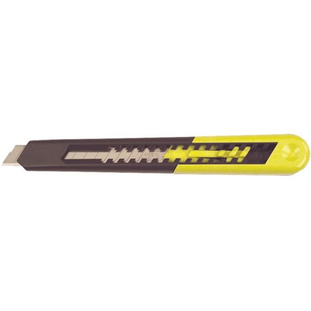 Plastic Retractable Utility Knife - STANLEY 10-150 9MM Snap-Off Utility Knife