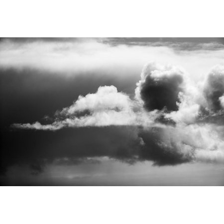 Canada, Storm Clouds Gather Above West Coast of Hudson Bay South of Inuit Village of Arviat Print Wall Art By Paul Souders ()