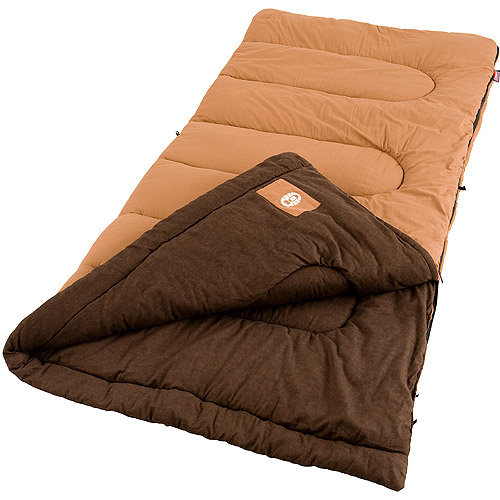 Coleman Dunnock Big and Tall 20- to 40-Degree Adult Sleeping Bag