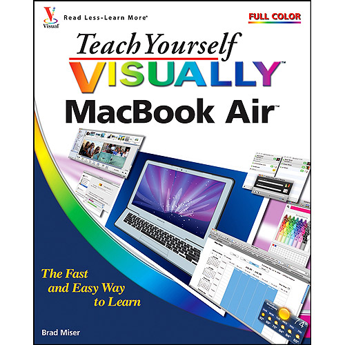 Teach Yourself VISUALLY MacBook Air