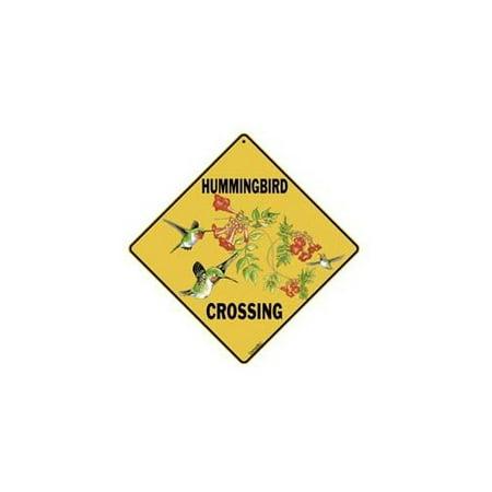 Hummingbird Crossing Sign Hummingbird Neon Sign