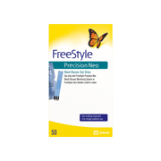 FreeStyle Precision Neo Blood Glucose Test Strips, 50 Ct