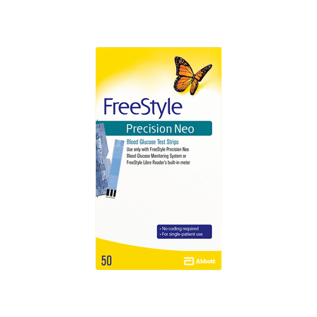 FreeStyle Precision Neo Blood Glucose Test Strips, 50 Ct](Neo Anderson)