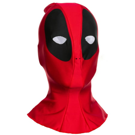 Deadpool Fabric Adult Mask, Halloween Accessory