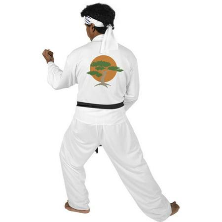 Famous Movie Costumes (Adult Karate Kid Movie)