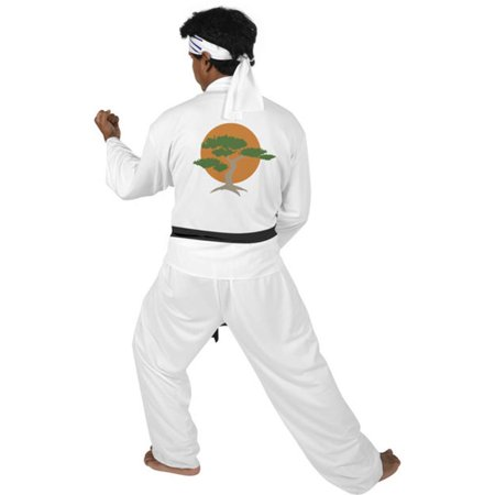 Adult Karate Kid Movie Costume - Karate Costumes For Kids
