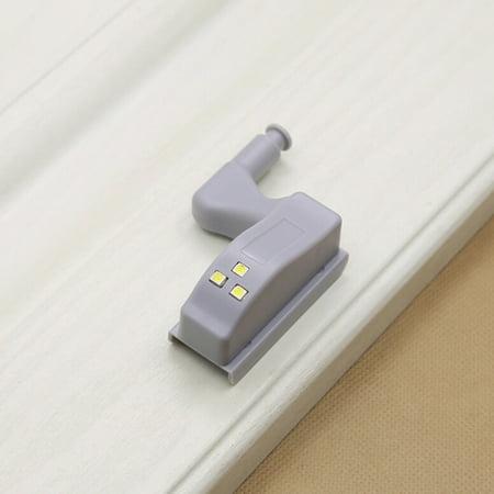 Universal Cabinet Hinge LED Sensor Light For Kitchen Living Room Bedroom Cupboard Closet Wardrobe Lamp - image 4 of 7