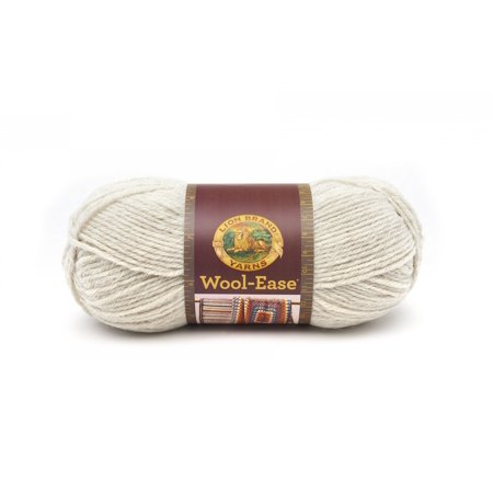 Lion Brand Yarn Wool Ease Natural Heather 620 098 Classic Wool Yarn