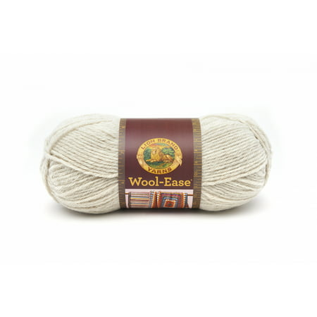 Lion Brand Yarn Wool-Ease Natural Heather 620-098 Classic Wool