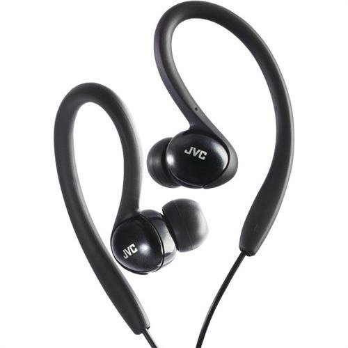 JVC HAEBX5B Sport Clip Headphone, Black