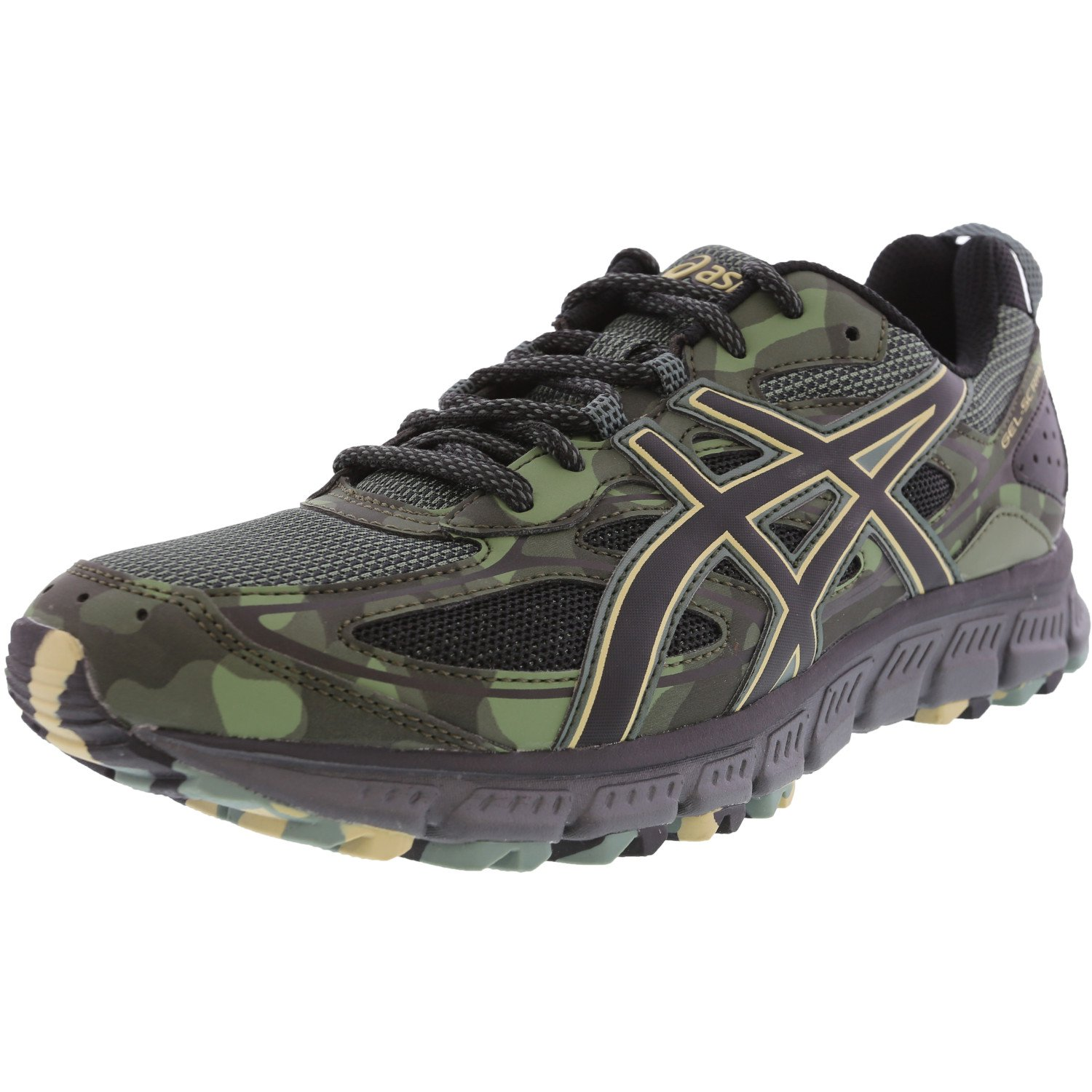 ASICS ASICS Gel Scram 3 Trail Running Shoe 8.5M Dark