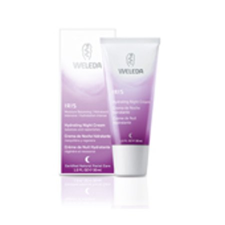 Skin Care-Iris Hydrating Night Cream Weleda 1 oz Cream