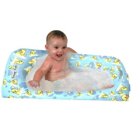kel gar snug tub inflatable baby bath duck. Black Bedroom Furniture Sets. Home Design Ideas