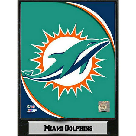 Miami Dolphins Framed Wall - NFL Miami Dolphins Photo Plaque, 9x12