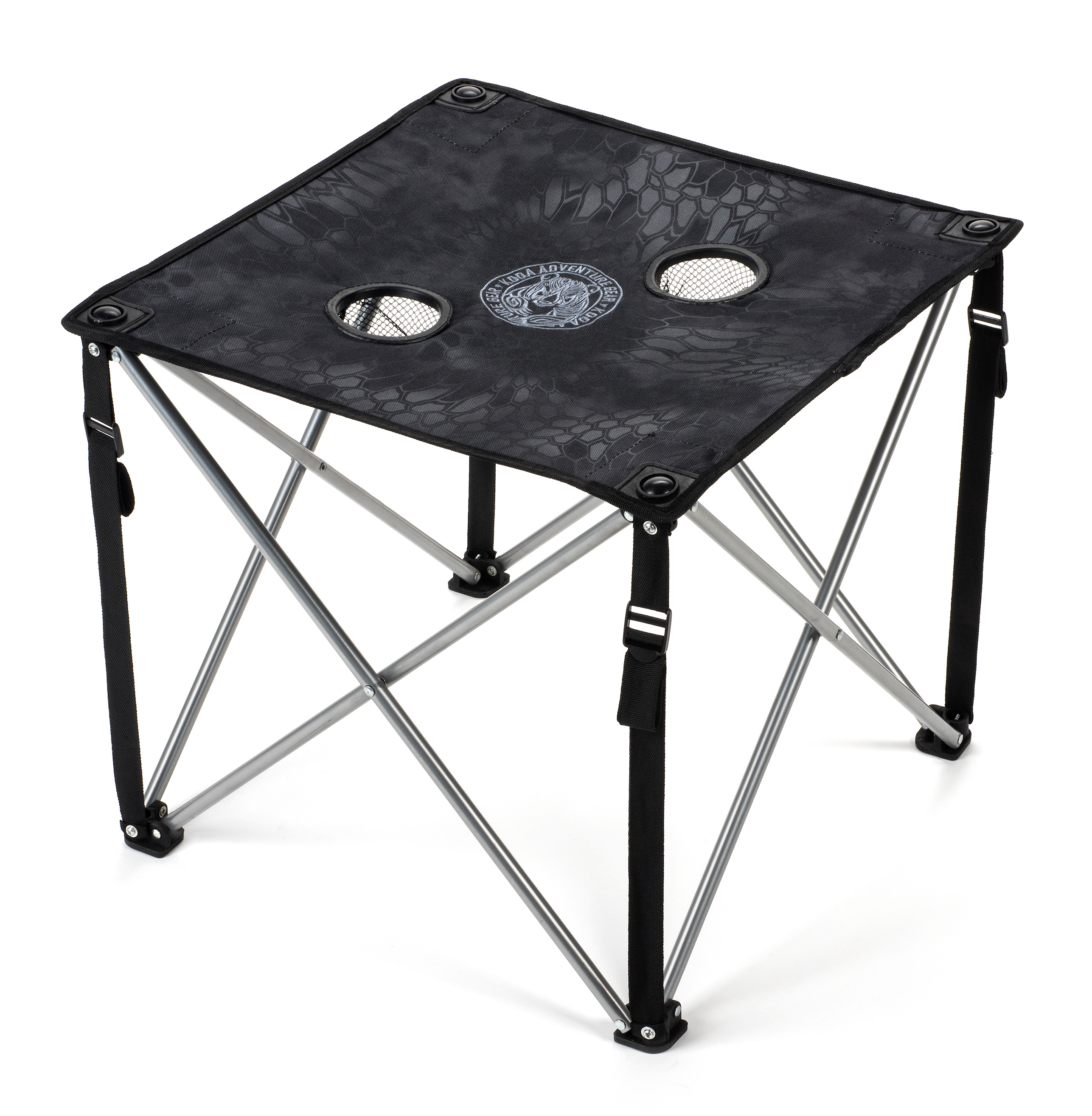 Click here to buy Lucky Bums Quick Camp Table with Carrying Bag, Kryptek Typhon by Lucky Bums.