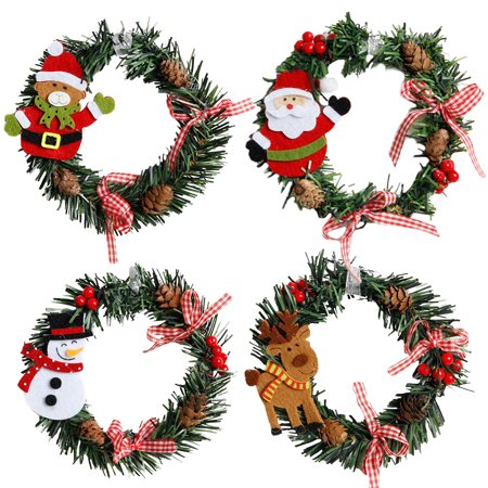Christmas Snowman Santa Garland Christmas Decoration - Christmas Garland Decorations