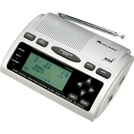 Midland Am Fm Alarm Clock Radio With Weather All Hazard Alerts