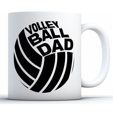 Awkward Styles Volleyball Dad Coffee Mug Sports Dad Gifts Father's Day Mugs Volleyball Mug for Dad Funny Dad Coffee Mugs Dad Mug for Volleyball Fans Best Dad Gifts Cheer Dad Coffee Mug Father
