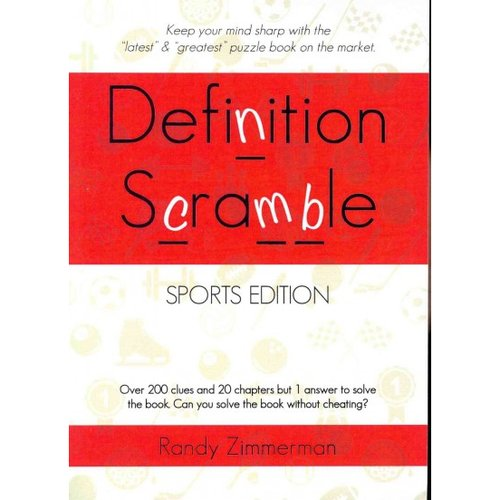 Definition Scramble: Sports Edition